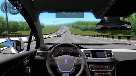City Car Driving 1.3.3 Peugeot 508 [1080p]