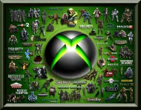 Xbox One Games Collage