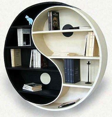 gambar desain lemari rak buku minimalis modern