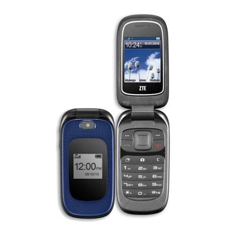 at t zte phone zte z222 at t basic flip cell phone like new condition