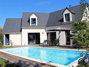 maison avec piscine chauffee privee accessible personnes With location villa bord de mer avec piscine 2 maison avec piscine en bretagne