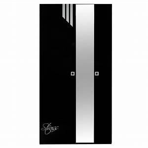 Spiegel Schwarz : kleiderschrank faktura schwarz hochglanz mit spiegel ~ Pilothousefishingboats.com Haus und Dekorationen