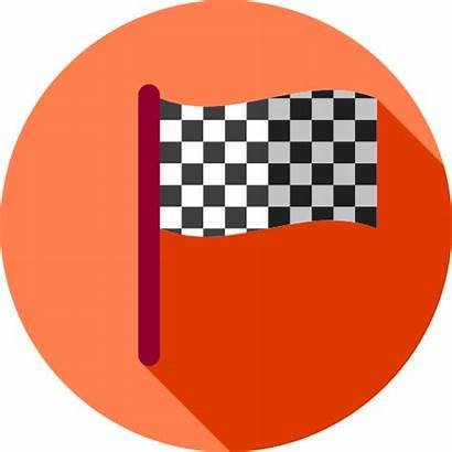 Icon Racing Finish Flag Race Icons Flags