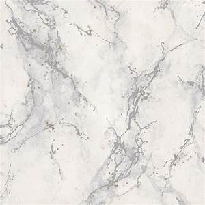 Rasch Marble Pattern Wallpaper Faux Effect Modern Metallic ...