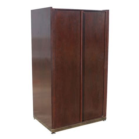 68 Quot Tall Vintage Mahogany Cabinet Unit File Drawers Ebay