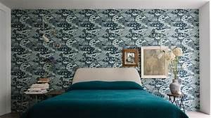 Tapisser Avec 2 Papiers Differents : papier peint tendance les plus beaux mod les d co et conseils de pose c t maison ~ Nature-et-papiers.com Idées de Décoration