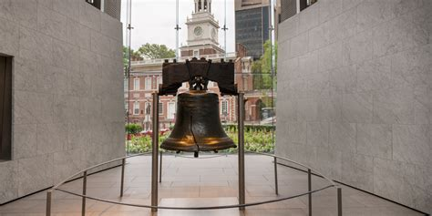 visiting  liberty bell center independence national