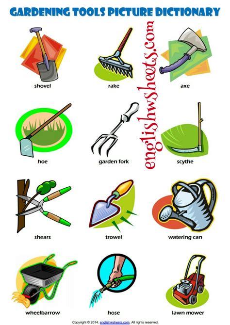printable worksheets  gardening learning