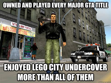 Owned And Played Every Major Gta Title Enjoyed Lego City
