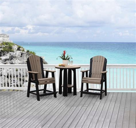 Outdoor Balcony Chairs by Luxcraft Balcony Adirondack Chair With Footrest Rocking