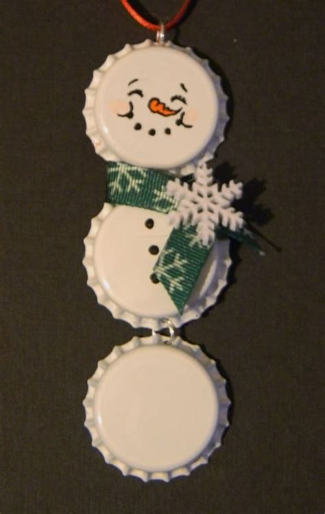 just me more bottle cap ornaments mine for sharing