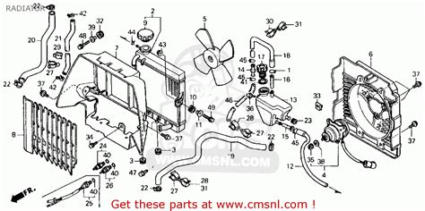 Honda Engine Cooling Diagram by Service Manual Honda Civic Cooling Diagram For 1989 Html