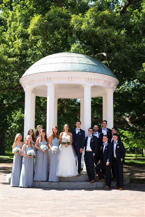 unc chapel hill wedding   carolina inn southern