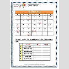 Grade 3 Maths Worksheets (92 Dates And Days On Calendar)  Lets Share Knowledge