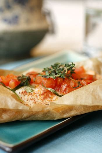 parchment wrapped fish skinny chef