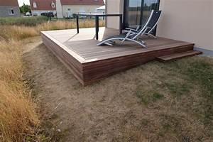 Nivremcom terrasse bois vis de fondation diverses for Fondation pour terrasse en bois