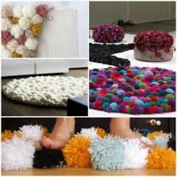 kreative ideen selber machen diy wohnideen teppich oder fußmatte selbst basteln