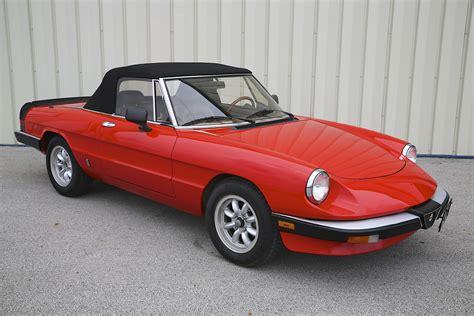 1985 Alfa Romeo Spider Graduate  Skunk River Restorations