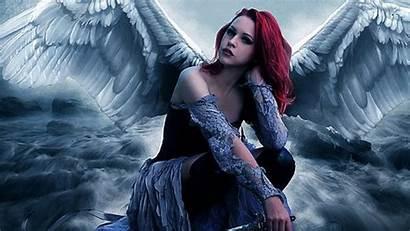 Angel Angels Fallen Wallpapers Desktop Screensavers Burst