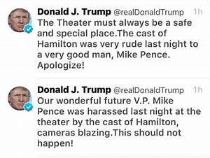 Art & history know no 'safe space,' and Hamilton owes Mike ...