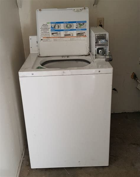Whirlpool Coinoperated Washer (model Cae2743bq0) Not