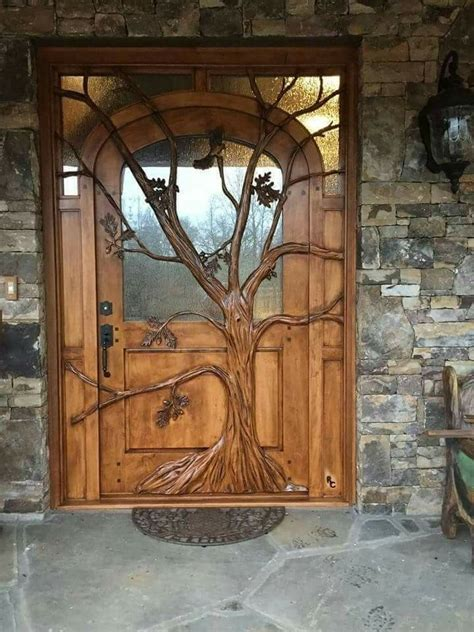 cool front door  house   doors