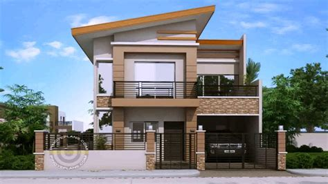 simple  storey house design  terrace  description youtube
