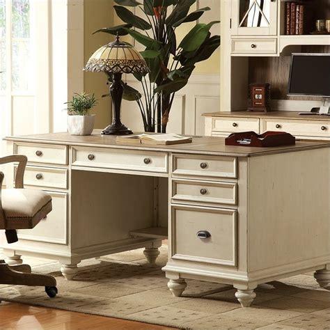 white executive office desk coventry two tone executive desk in dover white 32535
