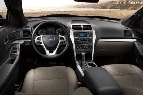ford explorer interior 2014 ford explorer reviews and rating motor trend