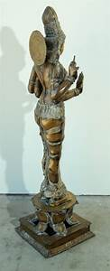 Bronze, Statue, Of, Hindu, Goddess, Lakshmi, For, Sale, At, 1stdibs