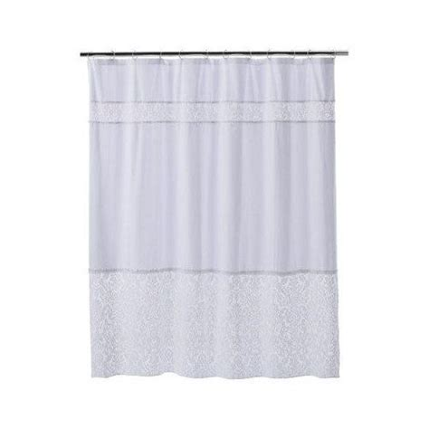 simply shabby chic curtains white 25 best ideas about lace shower curtains on