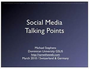 Social Media Talking Points
