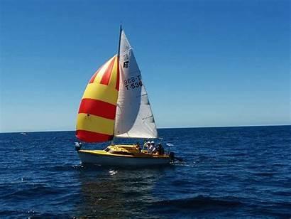 Sailing Boat Sail Wind Cruising Night Motion
