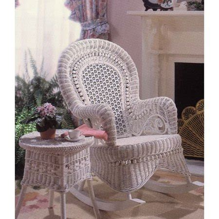 country wicker rocking chair indoorcovered porch