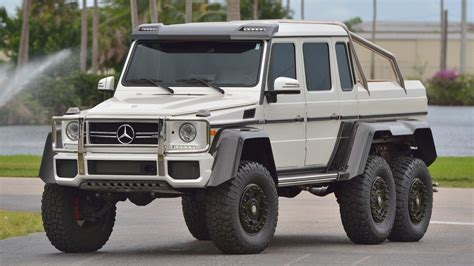 Unless otherwise noted, all vehicles shown on this website are offered for sale by licensed motor vehicle dealers. 2017 Mercedes-Benz G63 AMG 6X6 - CLASSIC.COM