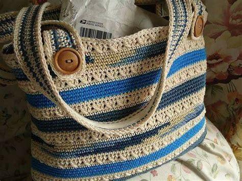 crochet bag wbutton  straps crochet bag pattern crochet bag knitted bags