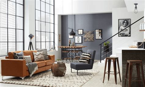 Loft Living Room Decorating Ideas by Industrial Loft Decorating Ideas For An Feel