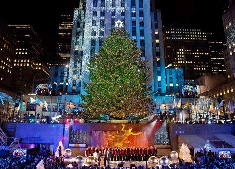 christmas in new york 2018 rockefeller center christmas tree