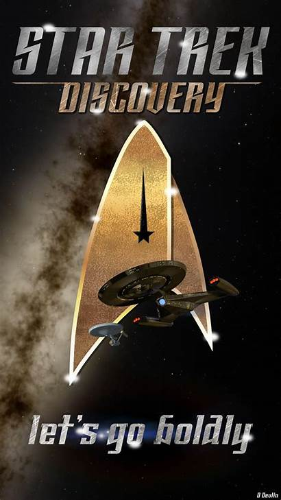 Trek Star Discovery Phone Iphone Wallpapers Mobile