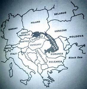Map of the Carpathian Mountains | Dark Series Wiki ...