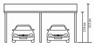Carport Maße Für 2 Autos : holz carport skanholz harz pultdach doppelcarport ~ Michelbontemps.com Haus und Dekorationen