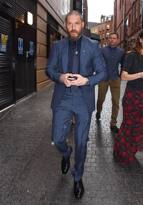 tom hardy   tailored suit  noomi rapace