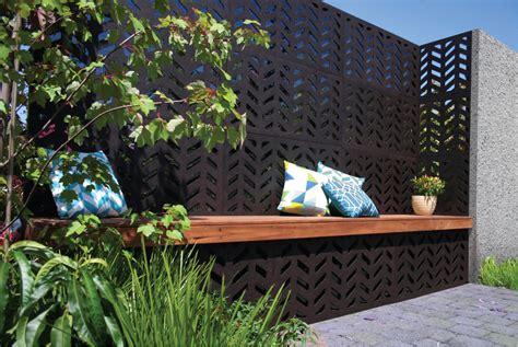 Dekoelemente Garten by Herringbone 80 Outdeco Outdoor Decorative Screen Panels
