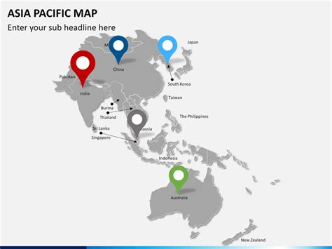 Asia   Pacific Map PowerPoint | SketchBubble