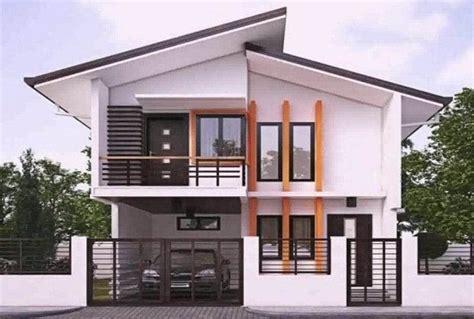 tampak depan rumah minimalis contoh model  inspirasi