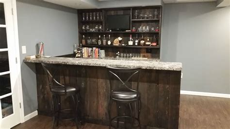 railroad house bar sinking how much space between counter and bar community