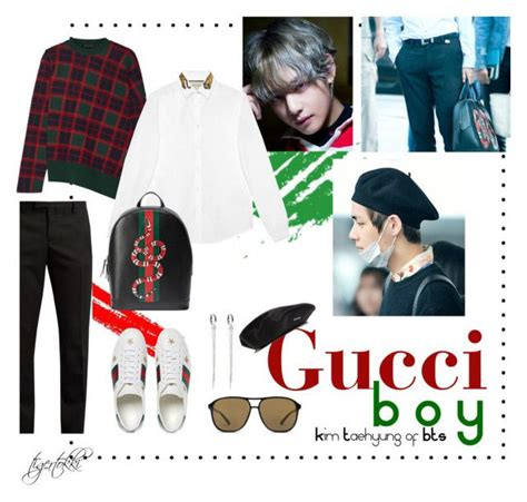 Gucci Boy  Kim Taehyung | Gucci Fashion menswear and Kpop