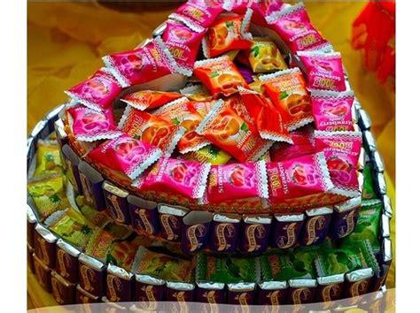 gambar gubahan hantaran coklat sumi gula gula yumida