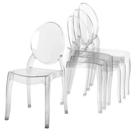 chaise de bureau transparente chaise plexi transparente achat vente chaise plexi