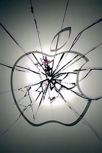Broken apple logo iPhone Wallpapers, iPhone 5(s)/4(s)/3G ...